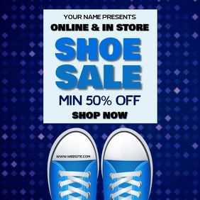 SHOE SALE AD SOCIAL MEDIA TEMPLATE