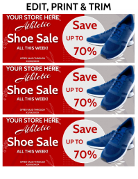 SHOE SALE Flyer (US Letter) template
