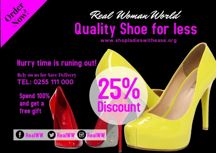 Shoe SHOP 55 A2 template