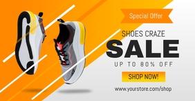 Shoes Craze Sale Facebook Ad Template