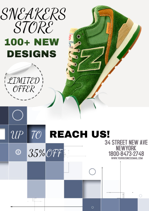 SHOES A4 template