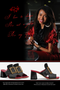 shoes fashion template Grafik Pinterest