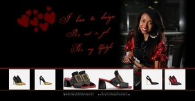 shoes fashion template Facebook Shared Image