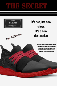 shoes fashion template Poster