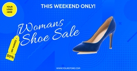 SHOES SALE Facebook-annonce template