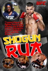 Shogun Rua Poster