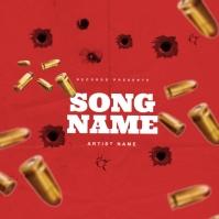 Shooter Rap Trap Mixtape Cover Art Template