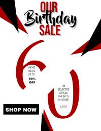 Shop Birthday Sale