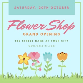 Shop Grand Opening Event Template