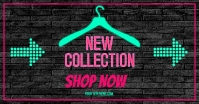 shop new collection banner Facebook Shared Image template