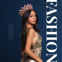 Shop Online fashion Sale Poster Albumhoes template