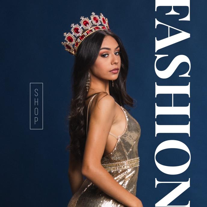 Shop Online fashion Sale Poster ปกอัลบั้ม template