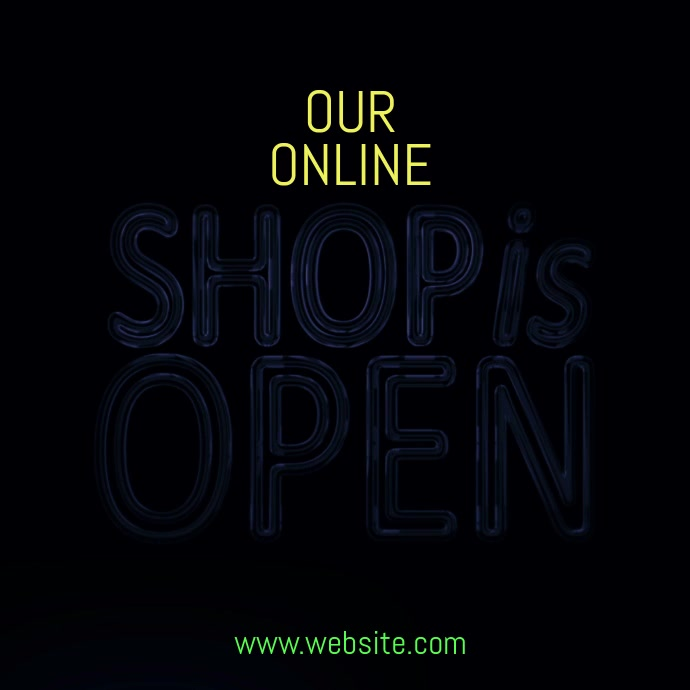 Shop opening