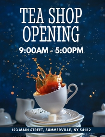 Shop Opening Flyer