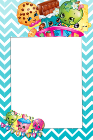 Shopkins Party Prop Frame
