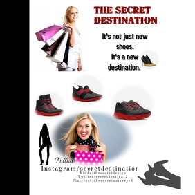 Shopping Shoes template