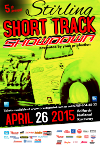 short track showdown poster2 template