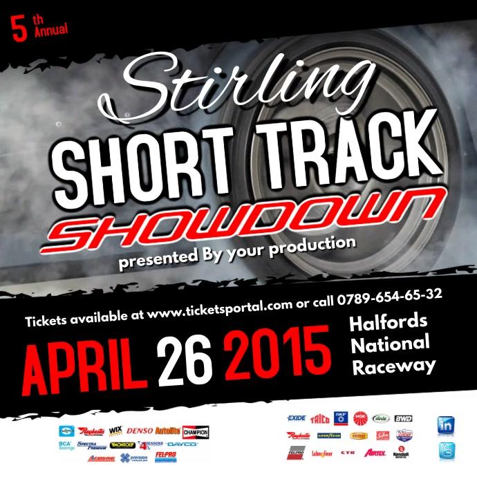 Short Track Showdown Instagram template