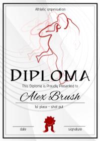 shot put diploma