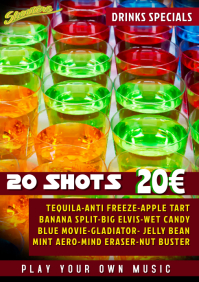 Shots Bar Promotion Template