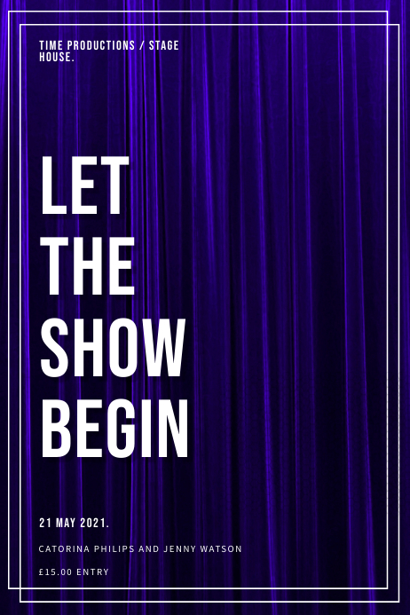Show Event Poster Template