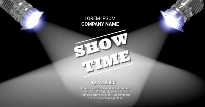 SHOW TIME VIDEO AD TEMPATE