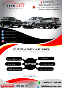 Showroom Flyer A4 template