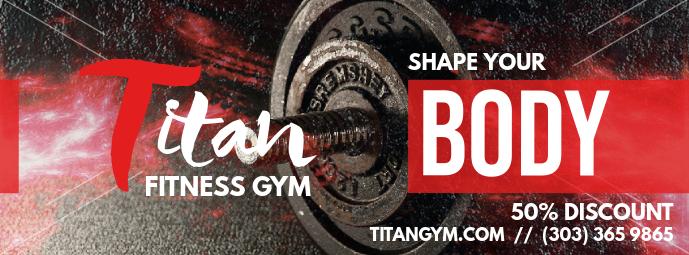Shredding and Gym Facebook Cover