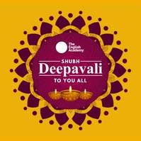Shubh Diwali Greeting Video Template Square (1:1)