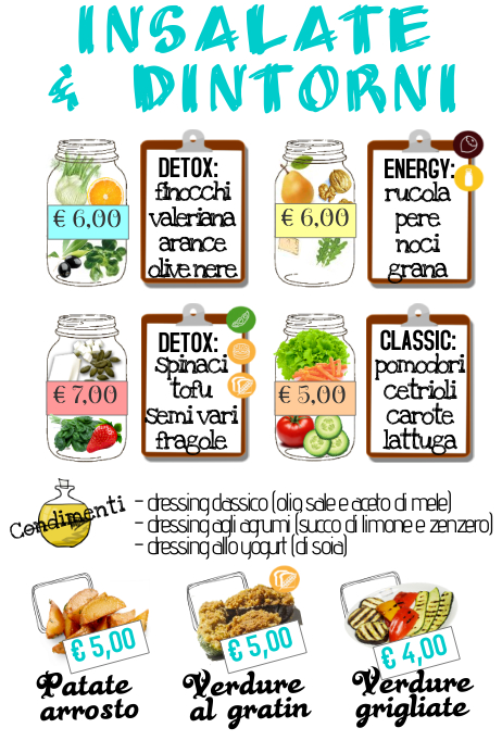 Side dishes menu Template | PosterMyWall