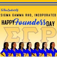 Sigma Gamma Rho Founders Day