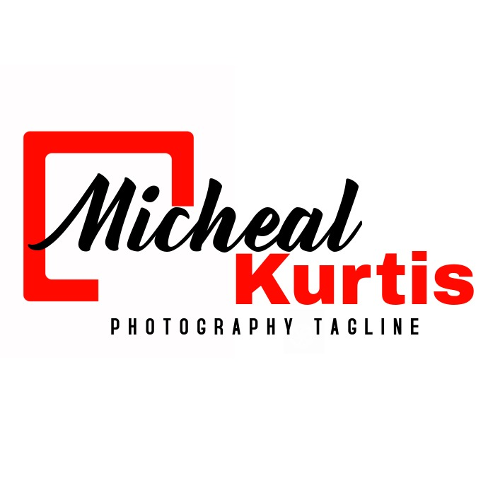 signature name logo for photography Logotipo template