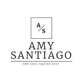 Signature / name minimal elegant logo