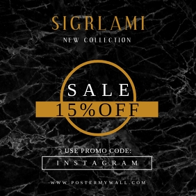 Sigrlami Instagram Fashion Promo Sale Banner