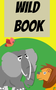 wild book Kindle/Book Covers template