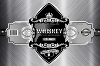 Silver Whiskey Tatak template