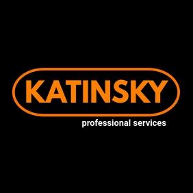 simple black and orange oval shape logo