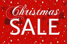 Simple Christmas Sale Flyer