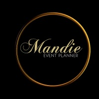 Simple Classy Event Planner Logo template