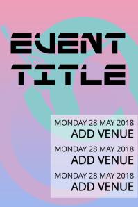 Simple Concert Event Flyer