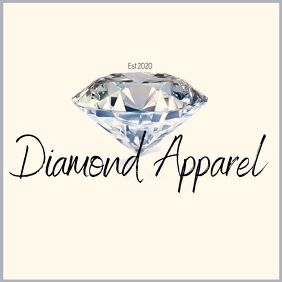 simple diamond logo TJ template