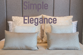 Simple Elegance/Pillows