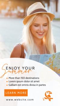 simple generic instagram story travel agency template