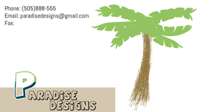Simple logo and business card