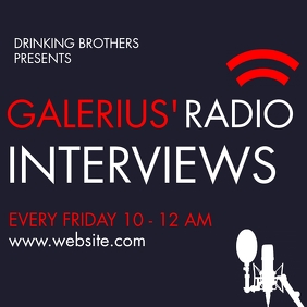 simple radio or podcast interview