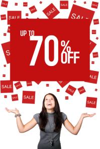 simple sale promotion flyer template