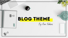 Simple Stylish Blog Header template