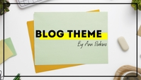 Simple Stylish Modern Blog Header template