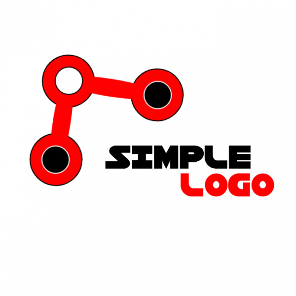 simple tech related logo