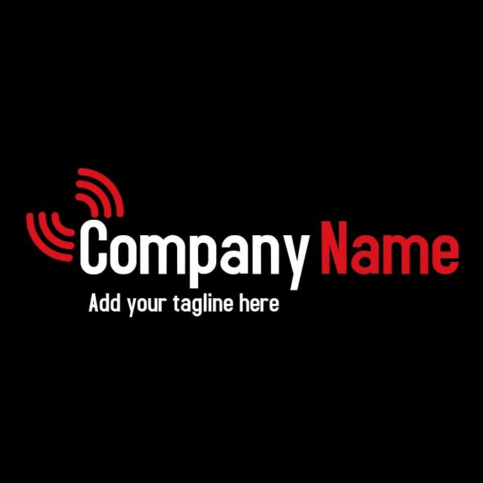 Simple written tech logo